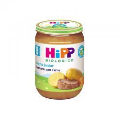 Potito verduras con carne +8M 190g Hipp - Imagen 1