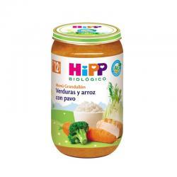 Potito de verduras y arroz con pavo Bio +12M 250g Hipp - Imagen 1