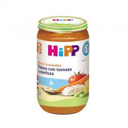 Potito de fideos con tomate y merluza +12M 250g Hipp - Imagen 1