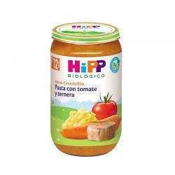 Potito de pasta con tomate y ternera Bio +12 M 250g Hipp - Imagen 1