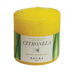 Vela taco alta flama citronela 80x70mm Roura - Imagen 1