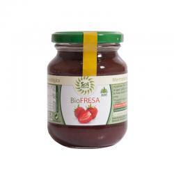 Mermelada de fresa con agave bio 330 g Sol Natural - Imagen 1