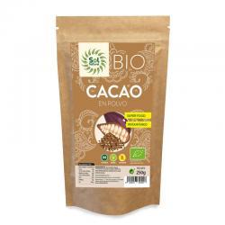 Cacao en polvo crudo raw bio 250g Sol Natural - Imagen 1