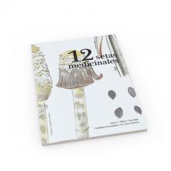 Libro 12 Setas medicinales para la salud Hifas da terra - Imagen 1