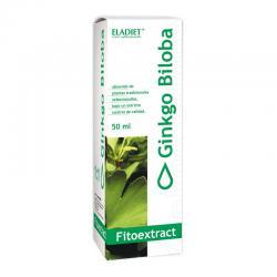 Ginkgo biloba extracto 50 ml Eladiet - Imagen 1