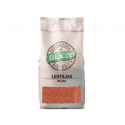 Lentejas rojas bio 500 g Biocop - Imagen 1