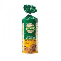Tortitas de arroz multicereales bio 200 g Biocop - Imagen 1