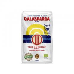 Arroz redondo blanco (envase de plástico) bio 1 kg Calasparra - Imagen 1
