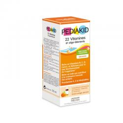Jarabe 22 vitaminas & oligoelementos Pediakid - Imagen 1