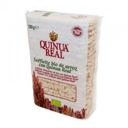Soffiette de arroz y quinoa bio 130 g Quinua Real - Imagen 1