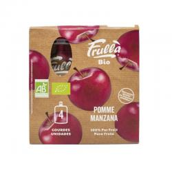 Pure manzana bio 4x100g Frulla - Imagen 1