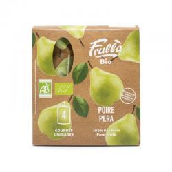 Pure pera bio 4x100g Frulla - Imagen 1