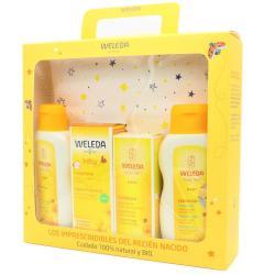 Set regalo Bienvenido bebé con neceser Weleda - Imagen 1