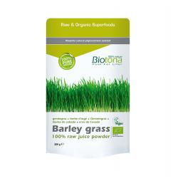 Barley grass/hierba de cebada superfood bio 200g Biotona - Imagen 1