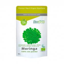 Moringa polvo superfood bio 200g Biotona - Imagen 1