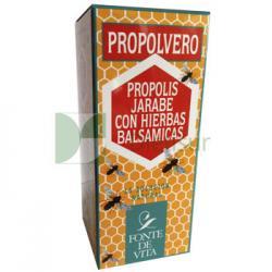Jarabe de propolis con hierbas balsámicas Propolvero Fonte de vita - Imagen 1