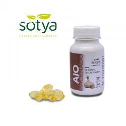 Ajo macerado 500 mg 110 perlas Sotya - Imagen 1