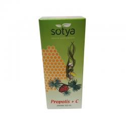 Jarabe de propoleo con vitamina  C ( bronquiton ) 250 ml Sotya - Imagen 1