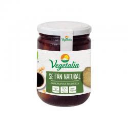 Seitan bote de vidrio esterilizado bio 250g Vegetalia - Imagen 1