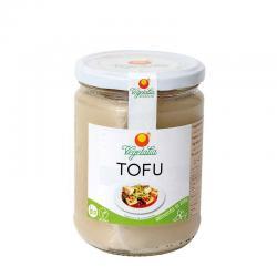 Tofu en bote de vidrio esterilizado bio 250g Vegetalia - Imagen 1