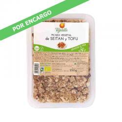Picada vegetal de seitán y tofu bio 250 g  Vegetalia - Imagen 1
