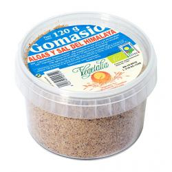 Gomasio con algas y sal de himalaya en bio tarrina  120 g Vegetalia - Imagen 1