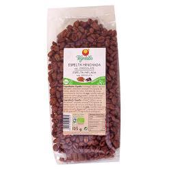 Espelta hinchada con chocolate bio 125 g Vegetalia - Imagen 1