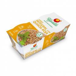 Arroz integral y quinoa roja bio 2x125 g Vegetalia - Imagen 1