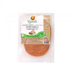 Mortadela vegetal bio 100 g Vegetalia - Imagen 1