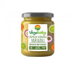 Potito Pure de verduras variadas Bio 190 g Vegebaby - Imagen 1