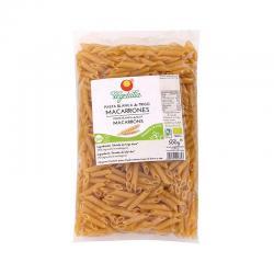 Macarrones de trigo blanco bio 500 g Vegetalia - Imagen 1