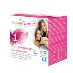 Protegeslips Girls Ultrafinas con alas Bio 12U Masmi - Imagen 1