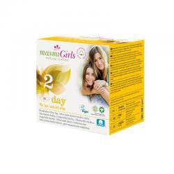 Compresas Girls Dia ultrafinas con alas Bio 10ud Masmi - Imagen 1