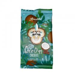 Chips de coco con cacao Bio 30g Anaconda - Imagen 1