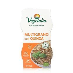 Multigrano con Quinoa Bio 2x125 g Vegetalia - Imagen 1