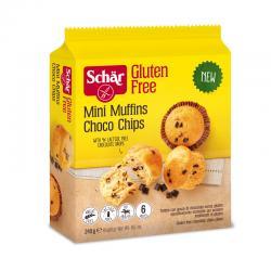Mini muffin pepitas chocolate 240g Schar - Imagen 1