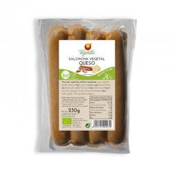 Salchicha vegetal con queso bio 230g Vegetalia - Imagen 1