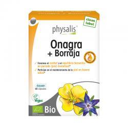 Onagra y borraja 60 capsulas Physalis - Imagen 1