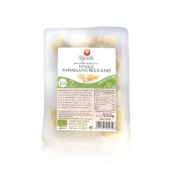 Raviolis con parmesano reggiano bio 250g Vegetalia - Imagen 1