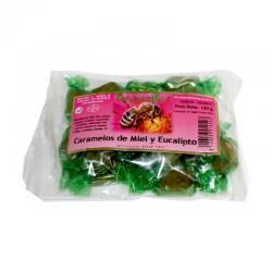 Caramelos Miel y Eucalipto 100g Hispamiel - Imagen 1