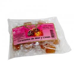 Caramelos Miel y Limon 100g Hispamiel - Imagen 1