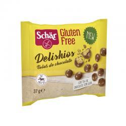 Delishios (Bolitas de chocolate) 37g Schar - Imagen 1
