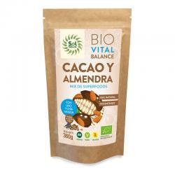 Vital Balance Cacao y Almendras Bio 360g Sol Natural - Imagen 1