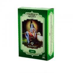 Tulsi polvo tratamiento capilar natural 100g Radhe Shyam - Imagen 1