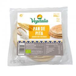 Pan Pita Blanca Bio 260g Vegetalia - Imagen 1