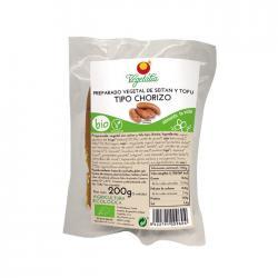Chorizo vegetal tofu y seitan Bio 200g Vegetalia - Imagen 1