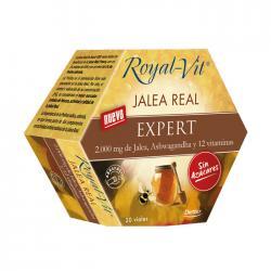 Jalea real Expert sin azucar 20 viales 2000mg Dietisa - Imagen 1