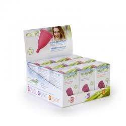 Expositor copa menstrual S,M,L 9 unidades Masmi - Imagen 1