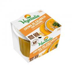 Crema de Calabaza y Curcuma Bio 290g Vegetalia - Imagen 1