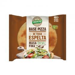 Base de pizza de Espelta Masa Fina 3 bases Bio 390g Biocop - Imagen 1